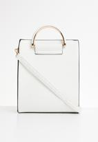 Superbalist - Kaylee faux leather bag - white