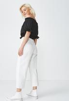 Cotton On - Melanie top - black