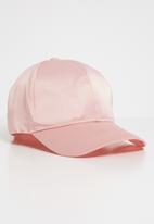 Superbalist - Satin peak cap - pink
