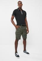STYLE REPUBLIC - Pixel cargo shorts - khaki