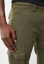 STYLE REPUBLIC - Cargo chino pants - khaki