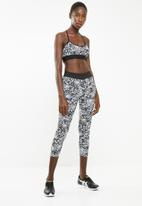 Superbalist - Printed sport bra - black & white