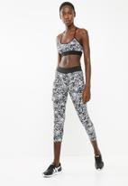 Superbalist - Printed leggings petal print - black & white