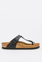 Birkenstock - Gizeh wider fit - black