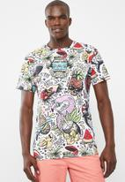 STYLE REPUBLIC - All over printed tee - multi