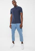 STYLE REPUBLIC - Tipped golfer - blue