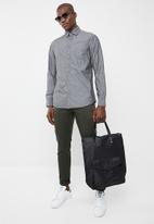 STYLE REPUBLIC - Long sleeve slim fit casual shirt - grey