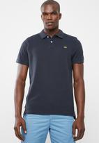 STYLE REPUBLIC - Crown piquet golfer - navy