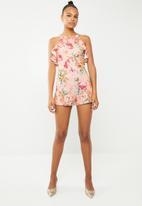 New Look - Sarah bloom playsuit - pink