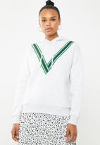 Vero Moda - Smilla hoodie long sleeve sweat - grey