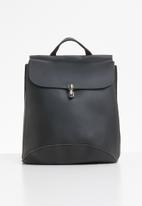 Superbalist - Alexa faux leather backpack - black