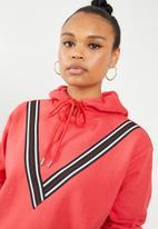 Vero Moda - Smilla hoodie long sleeve sweat - red