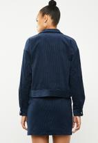 Vero Moda - Moon corduory long sleeve jacket - navy