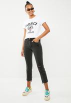 Vero Moda - Wild merci t-shirt - white