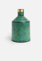 Sixth Floor - Patina vase - green