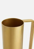 Sixth Floor - Hana vase - gold