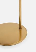 Sixth Floor - Niko candle holder - gold