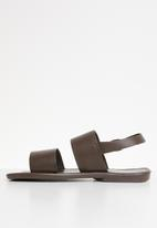 STYLE REPUBLIC - 2 Bands sandals - brown