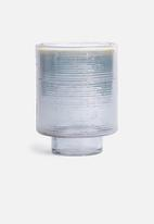 Sixth Floor - River glass vase - grey