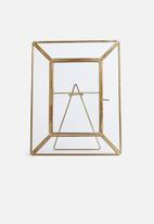 Sixth Floor - Ida photo frame - gold