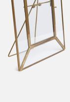 Sixth Floor - Ida photo frame - gold