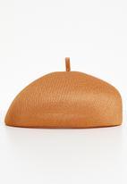 Superbalist - Shell beret - bronze