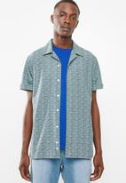 Superbalist - Cuban collar shirt - blue