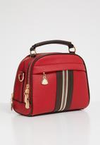 STYLE REPUBLIC - Stripe detail slingbag - red