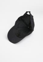 Superbalist - Perforated peak cap - black