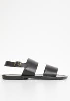 STYLE REPUBLIC - 2 Bands sandals - black