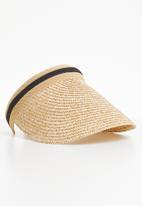 dailyfriday - Straw visor - neutral