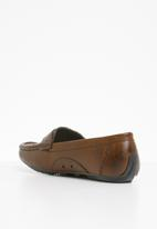 STYLE REPUBLIC - Bonded leather loafers - tan