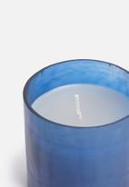 Sixth Floor - Larkin candle - blue