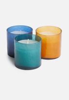 Sixth Floor - Larkin candle - amber
