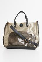 Superbalist - Nina clear bag - black