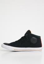 Converse - High street high top sneakers - black
