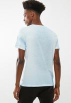 STYLE REPUBLIC - Pigment wash tee - blue