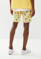 STYLE REPUBLIC - Printed shorts - yellow
