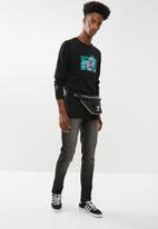 STYLE REPUBLIC - Straight fit denim - black
