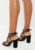 Superbalist - Vera block heel - black