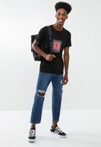 Cotton On - Tbar short sleeve tee 2 - black