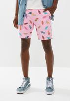 STYLE REPUBLIC - Printed shorts - pink