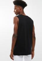 Cotton On - Tbar muscle tank - black
