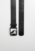 Nixon - Icon cut out belt II - black