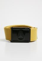 Nixon - Enamel wings belt - yellow