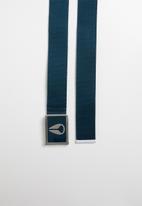 Nixon - Enamel wings belt - navy