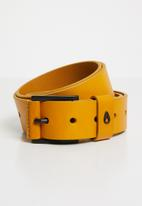 Nixon - Americana mid belt - yellow