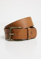 Nixon - DNA belt - brown