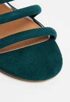 Cotton On - Conga tubed mule heel - green