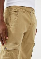 STYLE REPUBLIC - Cargo chino pants - brown